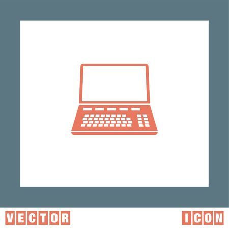 lap: Lap Top vector icon Illustration