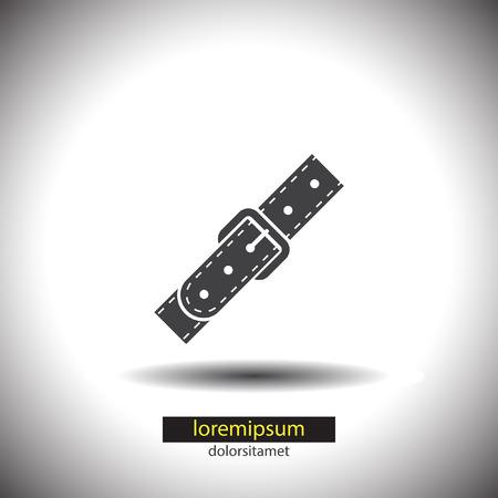 strap on: Strap vector icon