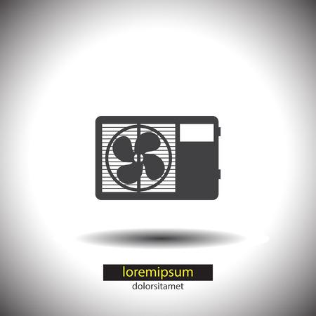 air: Air Conditioner vector icon