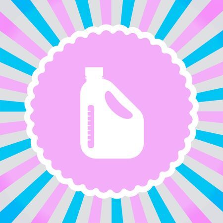 jerry: Jerrycan Oil Can vector icon Illustration