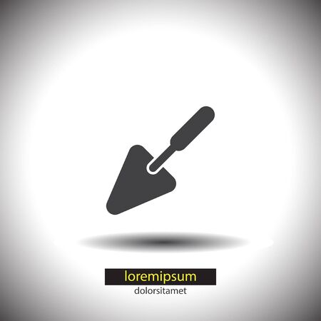 trowel: Trowel vector icon