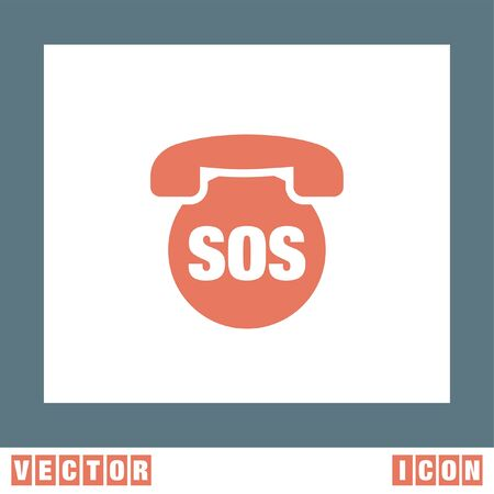 sos: SOS Phone vector icon