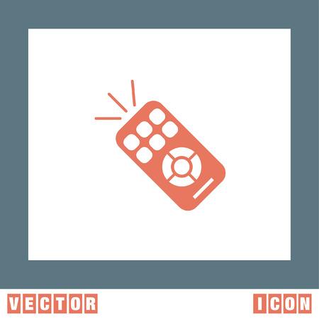 tv remote: TV Remote vector icon Illustration
