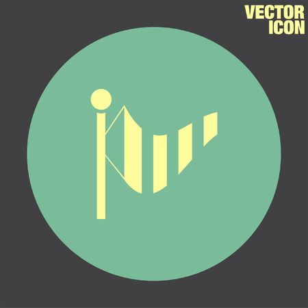 speed: Wind Speed vector icon