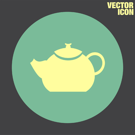 creamer: Teapot vector icon
