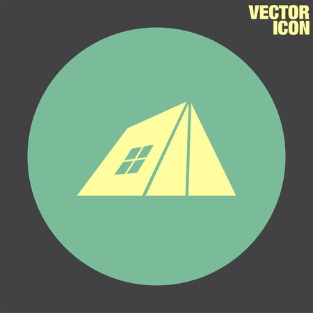 tent vector: Camping Tent vector icon