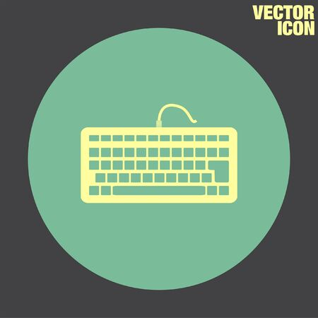 input device: Keyboard vector icon