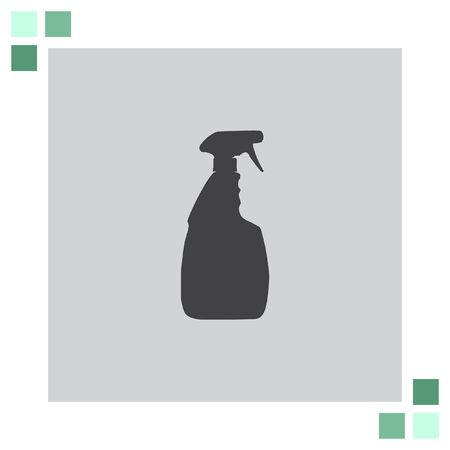 household: Household Cleaning Bottle vector icon