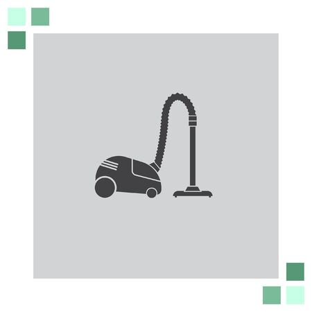 cleanup: Vacuum Cleaner vector icon Illustration