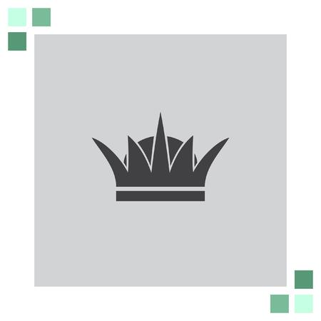 nobility: Crown vector icon