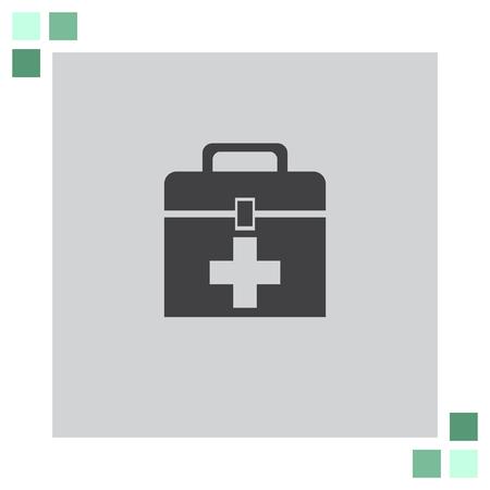 first aid box: First Aid Box vector icon