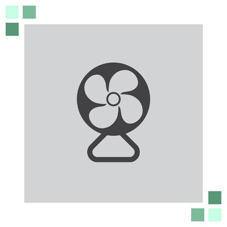electric fan: Electric Fan vector icon