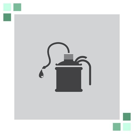 oil can: Oil can vector icon Illustration