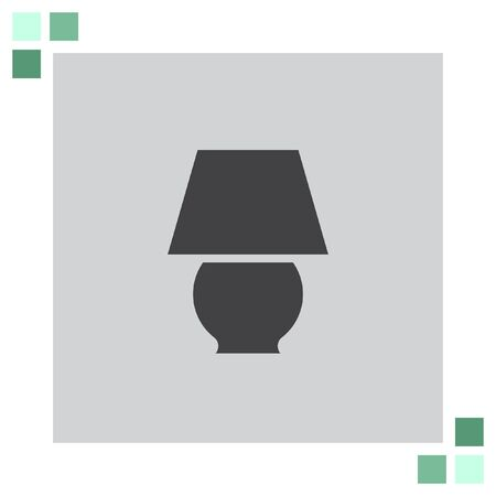 lamp vector: Lamp vector icon