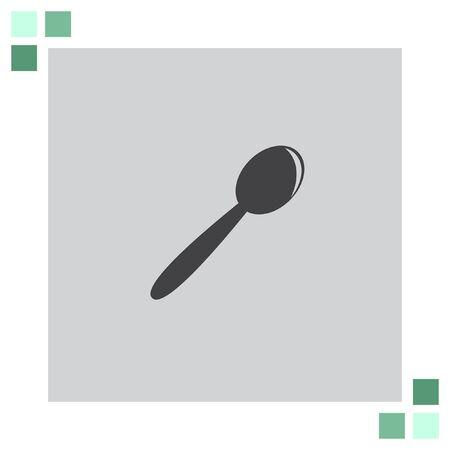 tablespoon: Spoon vector icon