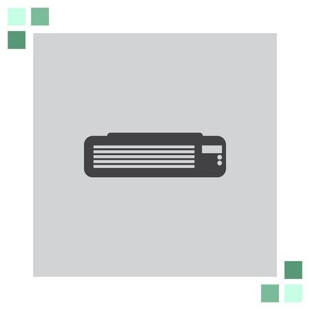 air conditioner: Air Conditioner vector icon