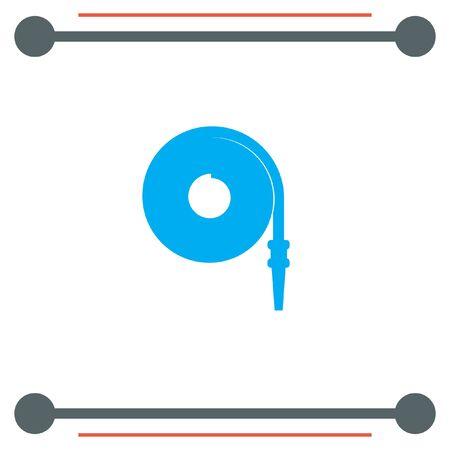hose: Fire Hose vector icon
