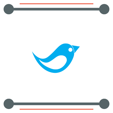 symbol icon: Bird vector icon