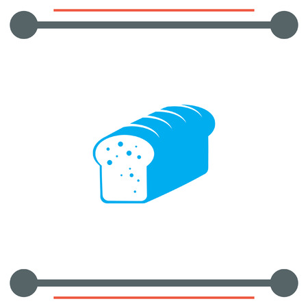 crust: Toast Bread vector icon
