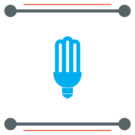 fluorescent light: Fluorescent light bulb