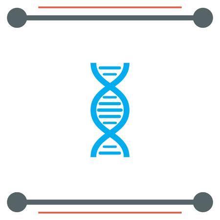 ADN del vector del icono de la cadena