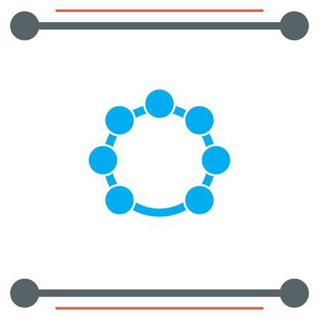 tambourine: Tambourine vector icon