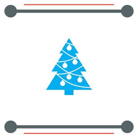 christmas icon: Christmas Tree vector icon