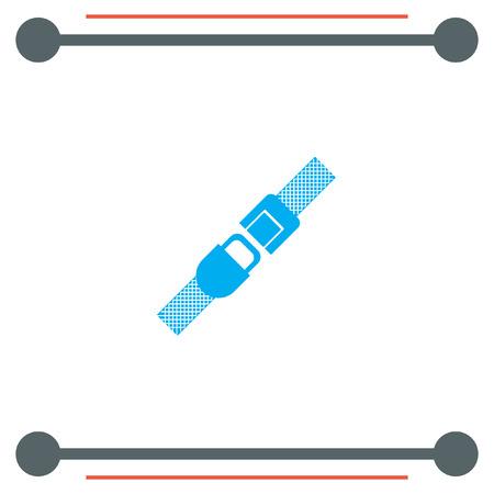 seat belt: Seat Belt vector icon