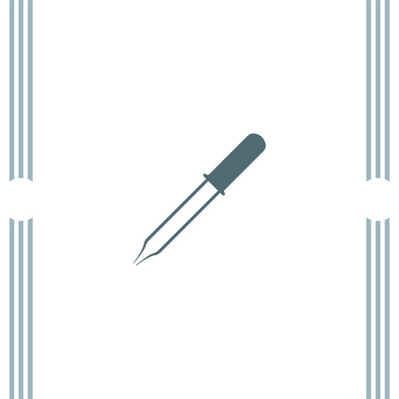pipette: Pipette vector icon Illustration