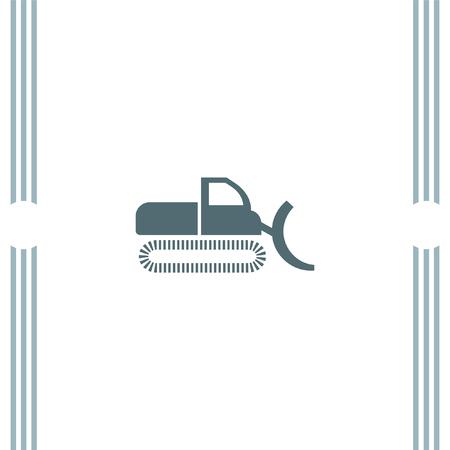 dredge: Dredge symbol vector icon Illustration
