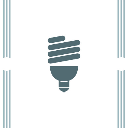fluorescent: Fluorescent light bulb