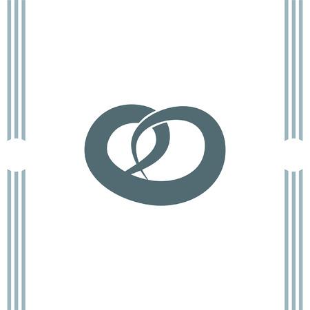 pretzel: Pretzel vector icon