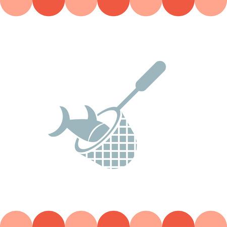 fishing net: Fishing Net vector icon