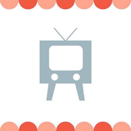 tuner: Television symbol vector icon