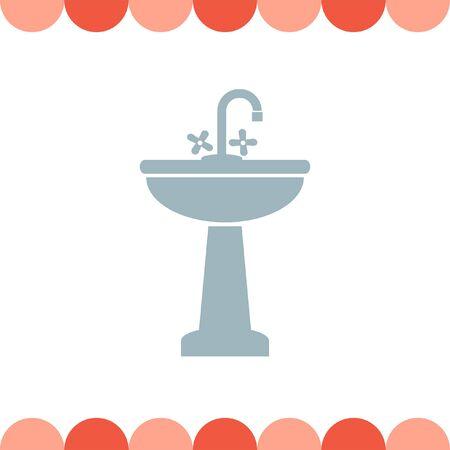 washbasin: Washbasin vector icon