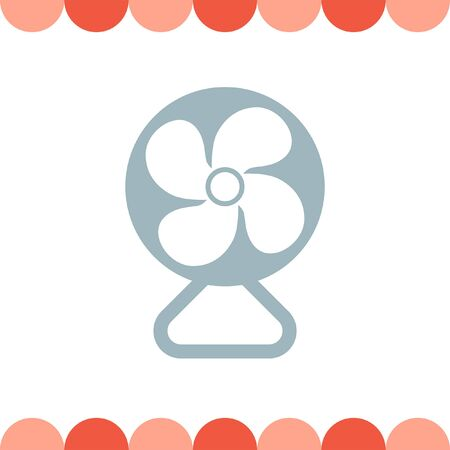electric fan: Electric Fan vector icon