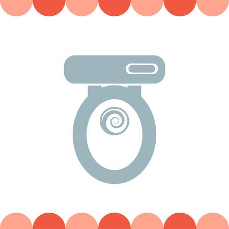 seat: Toilet Seat vector icon