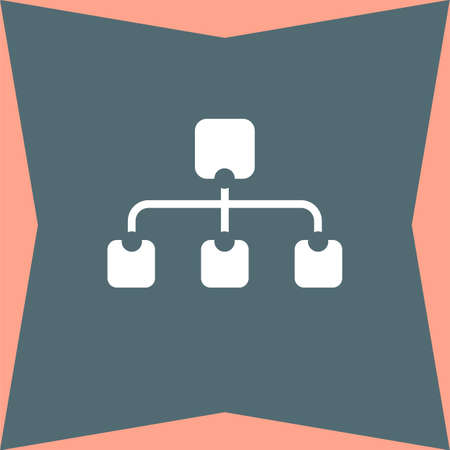 site map: Site Map vector icon Illustration