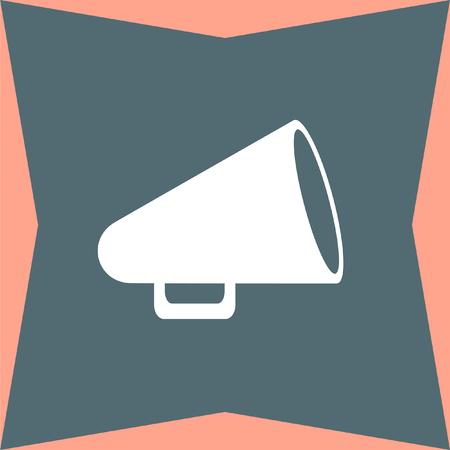 proclaim: Megaphone vector icon