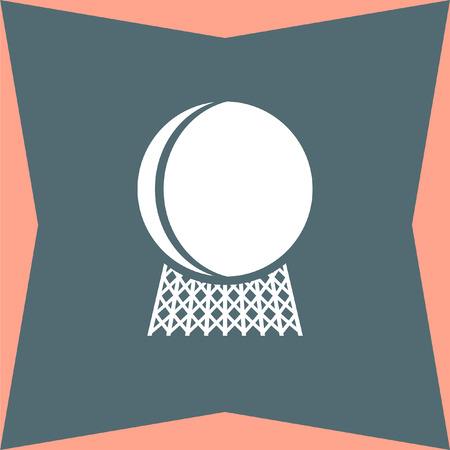 vector nuclear: Nuclear Power Plant vector icon