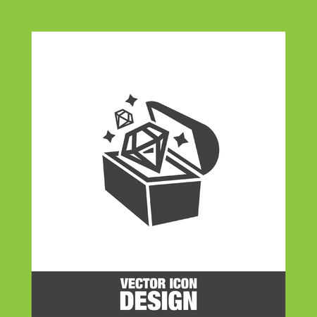 Treasure chest icon vector, Treasure chest icon eps10, Treasure chest icon picture, Treasure chest icon flat, Treasure chest icon, Treasure chest web icon,