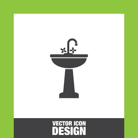 washbasin: Washbasin icon vector, Washbasin icon eps10, Washbasin icon picture, Washbasin icon flat, Washbasin icon, Washbasin web icon, Illustration