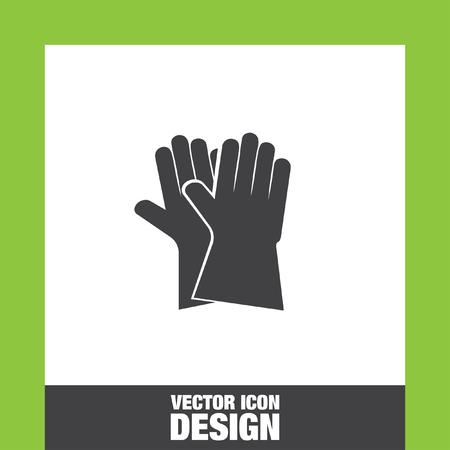 latex glove: Garden gloves icon vector, Garden gloves icon eps10, Garden gloves icon picture, Garden gloves icon flat, Garden gloves icon, Garden gloves web icon, Illustration