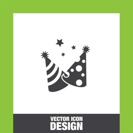 new year's cap: Party hat icon vector, Party hat icon eps10, Party hat icon picture, Party hat icon flat, Party hat icon, Party hat web icon,