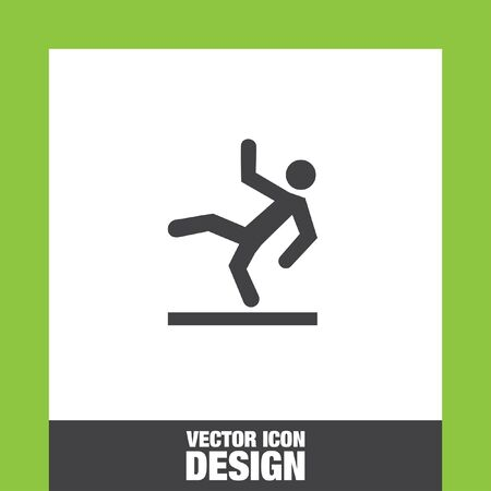 slippery: Slippery wet floor icon vector, Slippery wet floor icon eps10, Slippery wet floor icon picture, Slippery wet floor icon flat, Slippery wet floor icon, Slippery wet floor web icon, Illustration