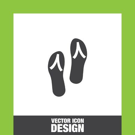 flip flops: Flip flops icon vector, Flip flops icon  Flip flops icon picture, Flip flops icon flat, Flip flops icon, Flip flops web icon, Illustration