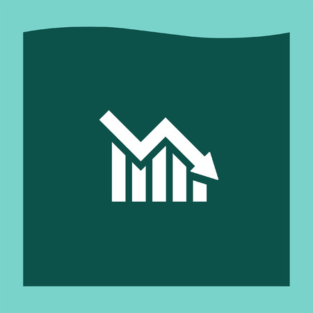 declining: Declining graph icon vector, Declining graph icon eps10, Declining graph icon picture, Declining graph icon flat, Declining graph icon, Declining graph web icon,
