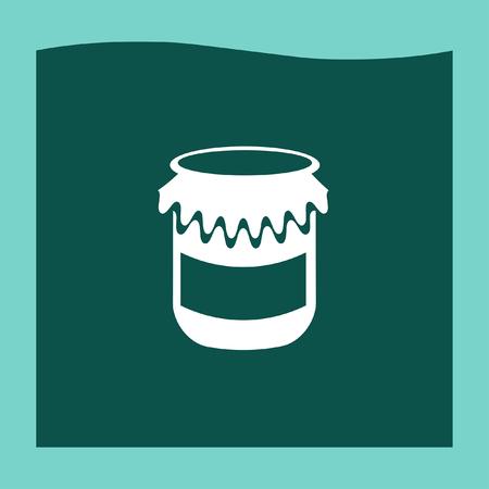 jam jar: Jam jar medical icon vector, Jam jar medical icon eps10, Jam jar medical icon picture, Jam jar medical icon flat, Jam jar medical icon, Jam jar medical web icon, Illustration