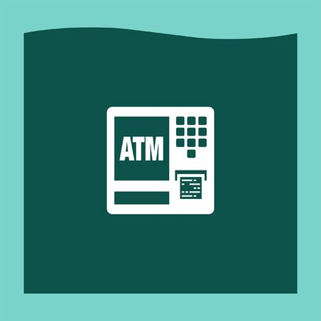 withdraw: ATM icon vector, ATM icon eps10, ATM icon picture, ATM icon flat, ATM icon, ATM web icon,