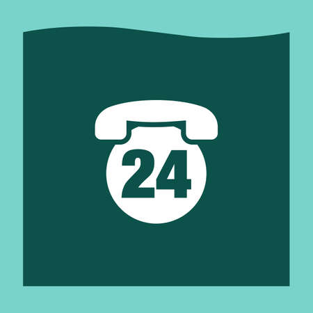 24h: Phone 24h icon vector, Phone 24h icon eps10, Phone 24h icon picture, Phone 24h icon flat, Phone 24h icon, Phone 24h web icon,